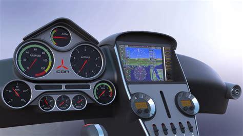 Icon A5 Interior by Icon A5 Interior Solidworks 3d Cad Model Grabcad