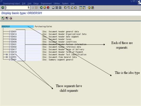 idoc tutorial in sap abap sap idoc tutorial definition structure types format