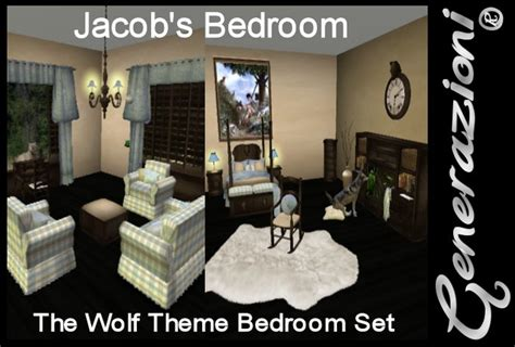wolf themed bedroom second life marketplace jacobs bedroom wolf theme for kids