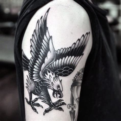 eagle tattoo on knee 50 traditional eagle tattoo designs for men old school ideas