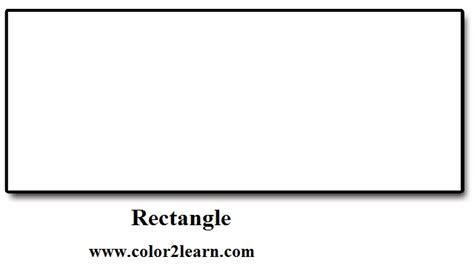printable rectangle shapes 4 best images of rectangle coloring pages printable