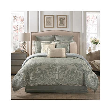 leila comforter set croscill classics leila 4 pc jacquard comforter set