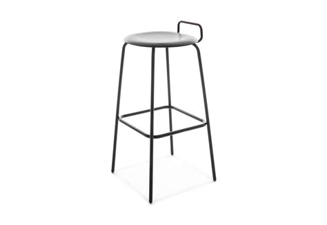 Four Legged Bar Stools by Pro Stool Four Legged Frame High With Backrest By Fl 246 Totto
