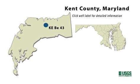 maryland aquifer map kent county md confined aquifer water table