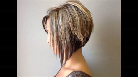 Graduated Bob Hairstyle Is Sexy For Round Faces Short Hair