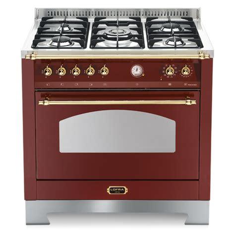 piano cottura acciaio satinato cucina dolcevita 90x60 rosso burgundy con piano in acciaio