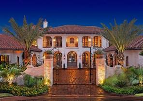 Spanish Mediterranean by 18 Stunning Hacienda Style Houses Style Motivation