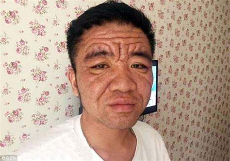 best look for eighty year old chongqing china man living with the face of a pensioner
