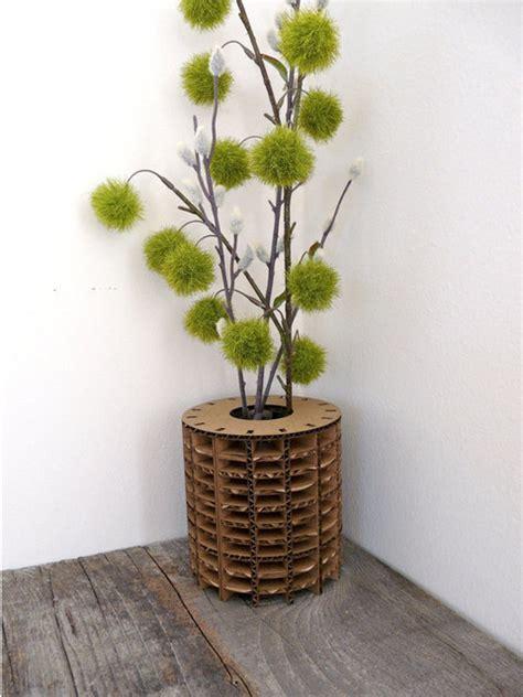 Indoor Vases by Cardboard Vase Modern Design Glass Vase Insert By