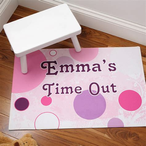 time out rug personalized time out floor mat contemporary rugs by personalization mall