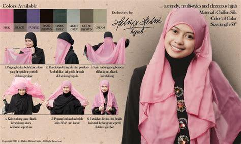 tutorial hijab labuh seminar penilan imej muslimah bersama heliza helmi