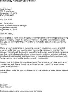 Certification Manager Cover Letter by Manager Cover Letter The Exle Shows How To Write A Business Letter For Resume