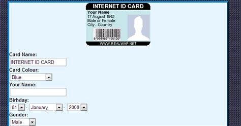 membuat id card online cara membuat badge kartu nama dan id card online hariez