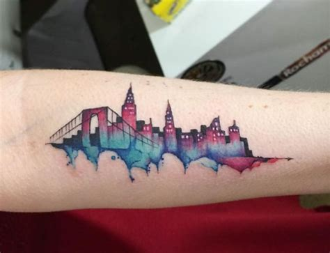 tattoo nyc skyline skyline tattoo designs ideas and meaning tattoos for you