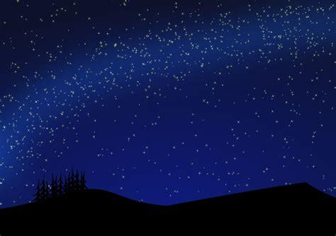 wallpaper bintang free vector graphic cosmic dark land landscape free