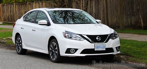 nissan sentra 2017 white 2017 nissan sentra sr turbo review the automotive review