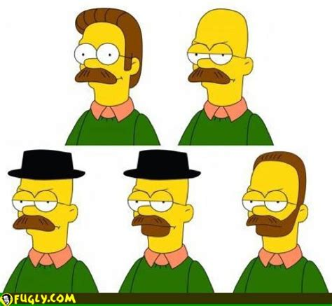 Breaking Ned breaking bad ned flanders walter white