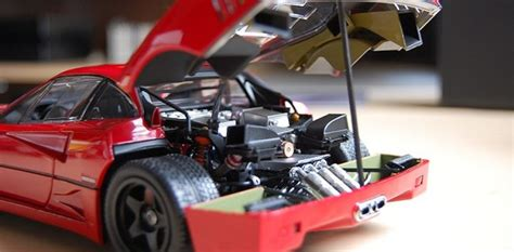 REVIEW: Kyosho Ferrari F40 Light Weight LM Wing (high end