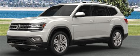 volkswagen atlas white 2018 volkswagen atlas exterior paint color options