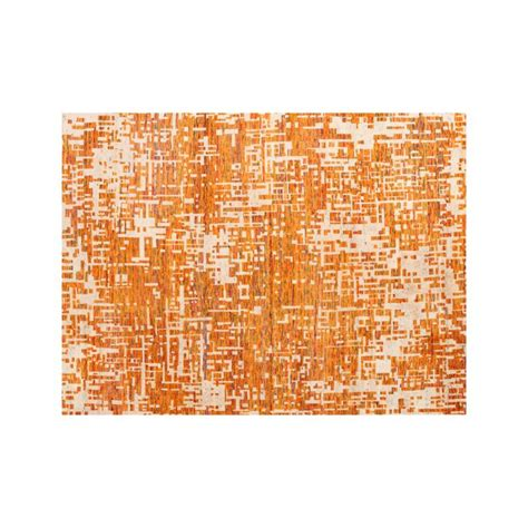 10 x 14 crate and barrel rugs celosia orange knotted 10 x14 rug crate and barrel