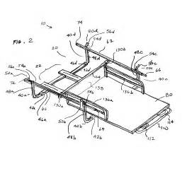 patent us6705656 pull out load platform for truck cargo beds google patents