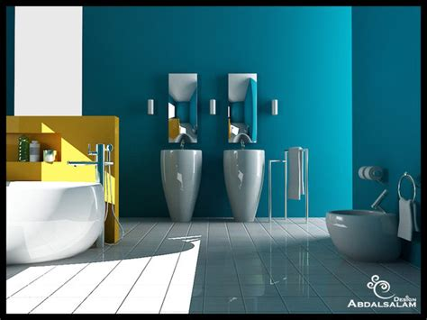 accent wall paint ideas bathroom inspiring bathroom designs for the soul