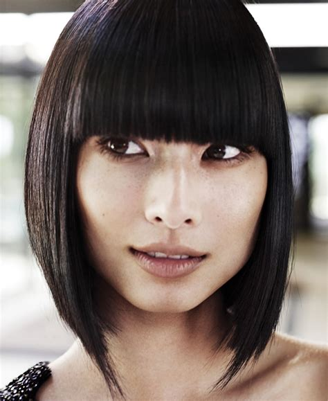 chin length haircuts for square faces hairstyles for square faces
