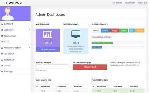 90 Best Free Bootstrap 4 Admin Dashboard Templates 2018 For Webapp Pixinvent Bootstrap Admin Template Free
