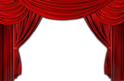 curtains transparent stage curtain png