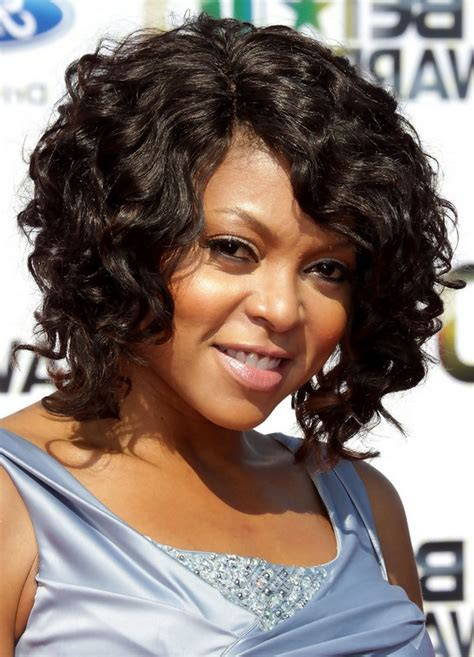 taraji p henson long wavy hairstyle pictures to pin on pinterest taraji p henson curly hairstyle for medium length hair