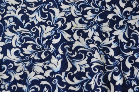 Blue White Upholstery Fabric by Blue Fabric Blue Fabrics White Fabric Cotton By