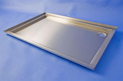 Metal Shower Pan by Steel Shower Trays