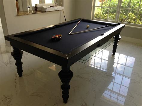pool table dining room table contemporary dining billiards