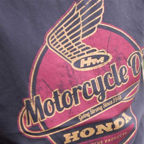 vintage honda logo vintage clothing owners motorcycles honda