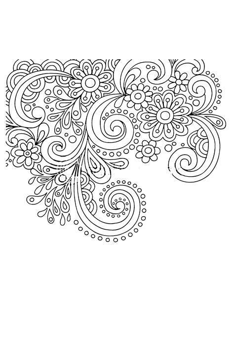 hand drawn tattoo designs free easy pasleys coloring pages