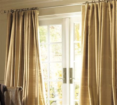 pb curtains pottery barn for the home pinterest silk drapes