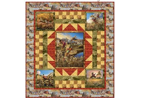 Quilting Treasures by Quilting Treasures Pheasant Country Free Project Sheet