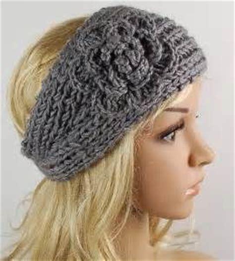 crochet flower headband pattern crochet and knit free crochet headband pattern with flower images