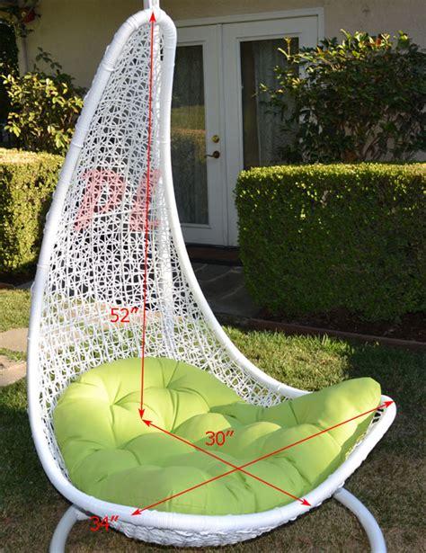 wicker swing bed egg shape wicker rattan swing bed chair weaving lounge