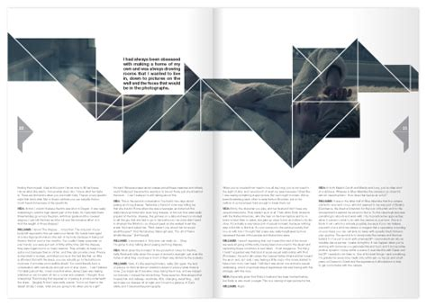 unique layout magazine kaleid arts culture magazine on behance