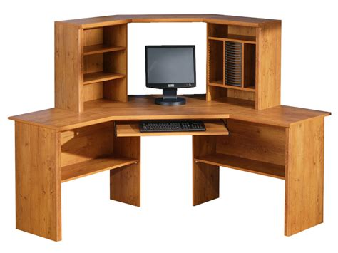 Corner Desk Pine South Shore Prairie Country Pine Corner Desk 7232780 At Homelement