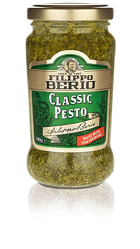 Filippo Berio Classic Pesto 190gr filippo berio classic pesto filippo berio