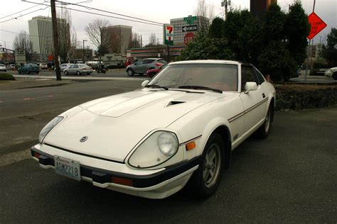 nissan datsun 1982 old parked cars 1982 datsun nissan 280zx turbo