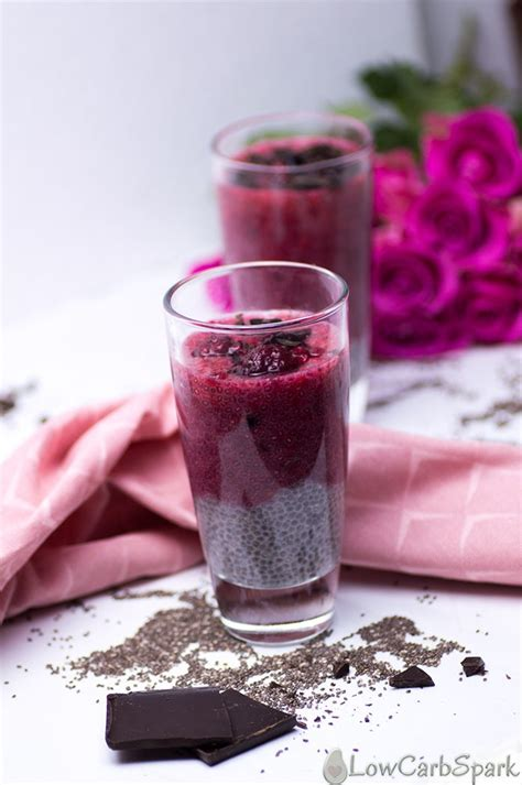 carbohydrates pudding easy keto raspberry vanilla chia pudding only 2g net carbs