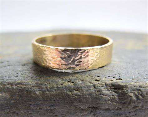 Handmade Gold Wedding Bands - handmade s gold wedding rings s artist