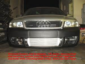 96 01 b5 audi a4 1 8t competition series front mount