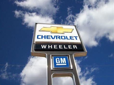 wheeler chevrolet hinton wheeler chevrolet hinton ok 73047 car dealership and