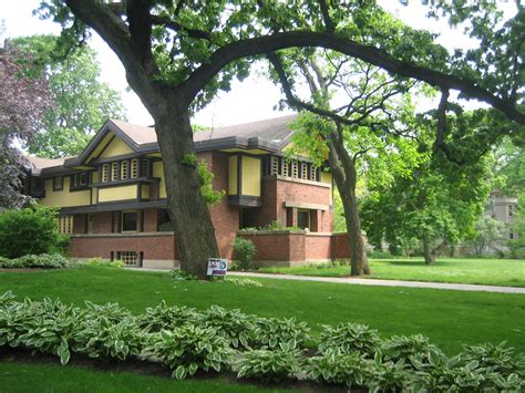 Praire Style Homes file oak park il beachy house1 jpg wikimedia commons