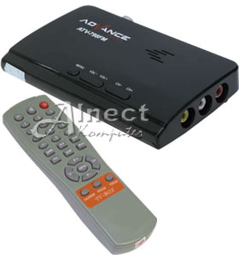Advan Tv Tuner Atv 798fm Led Lcd Crt Hitam jual tv tuner advance atv 798fm led lcd tv box tv tuner