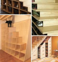 stairway storage 10 clever under stair storage space ideas solutions